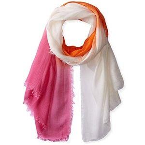 anthropologie // lightweight ombré sunset scarf